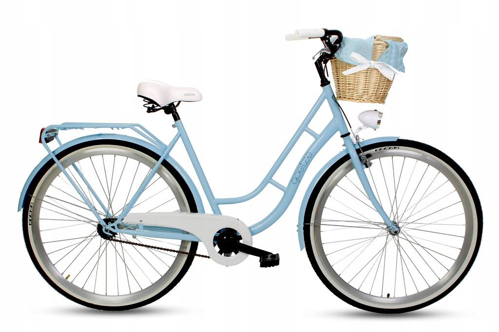 Damski rower miejski GOETZE 28 ECO + kosz damka!!!