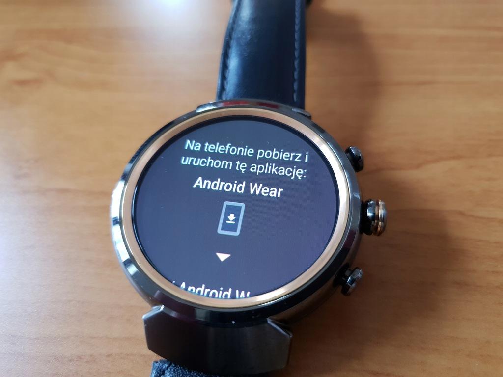 Asus Zenwatch 3 WI503Q-1LDBR0001 Smartwatch