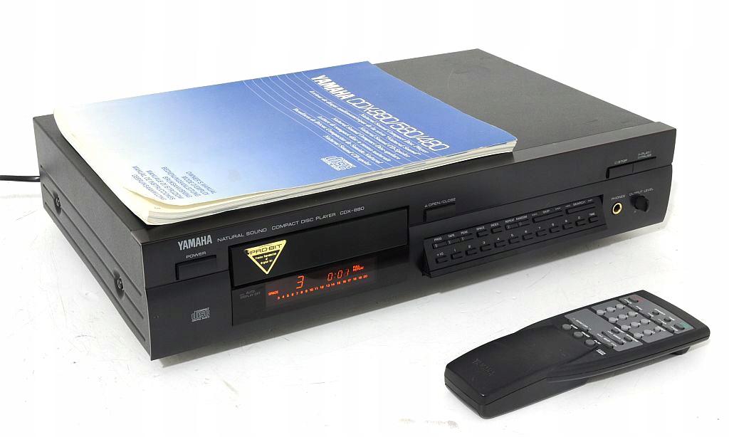 YAMAHA CDX-880 ODTWARZACZ CD TOPOWY MODEL PRO BIT