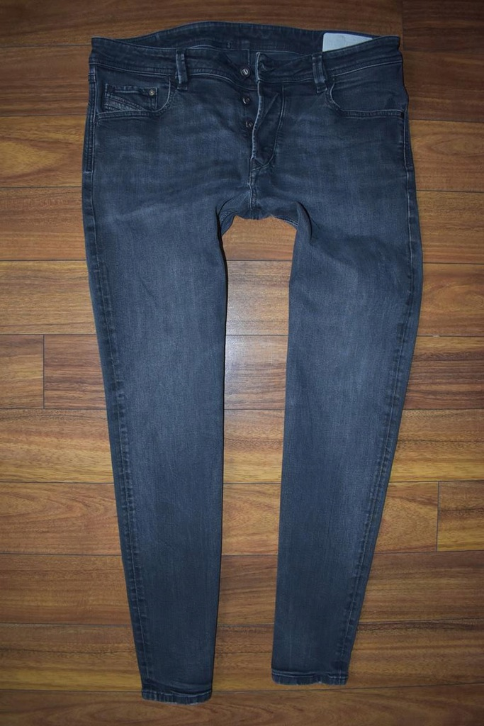 DIESEL LARKEE-BEEX Spodnie Męskie Jeans W38 L32