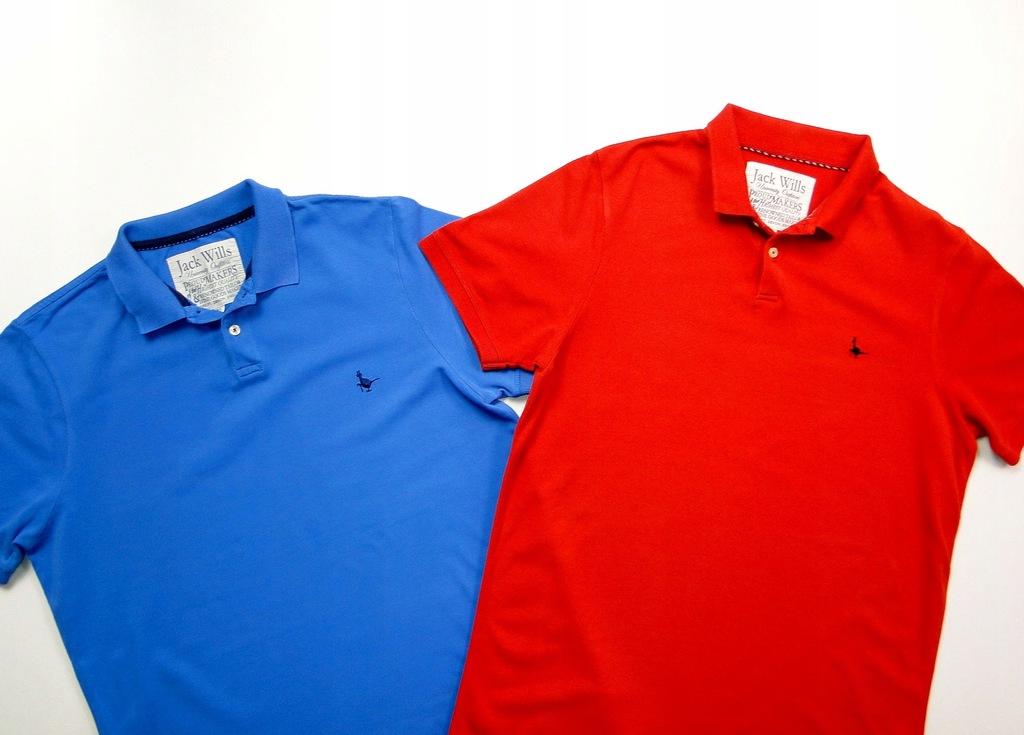 Koszulka JACK WILLS Polo / 2 SZTUKI / Zestaw