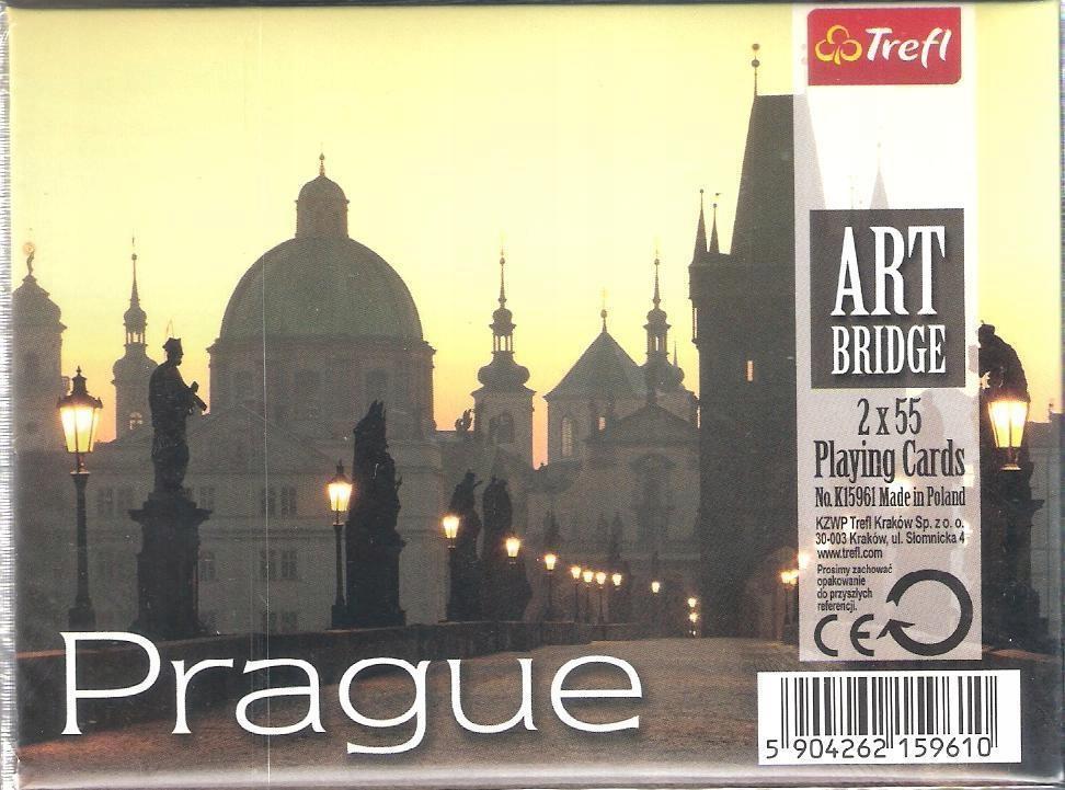 KARTY - ART BRIDGE - PRAGUE TREFL, TREFL