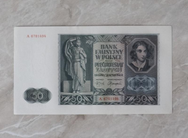 50 złotych 1941 seria A  dla WOŚP