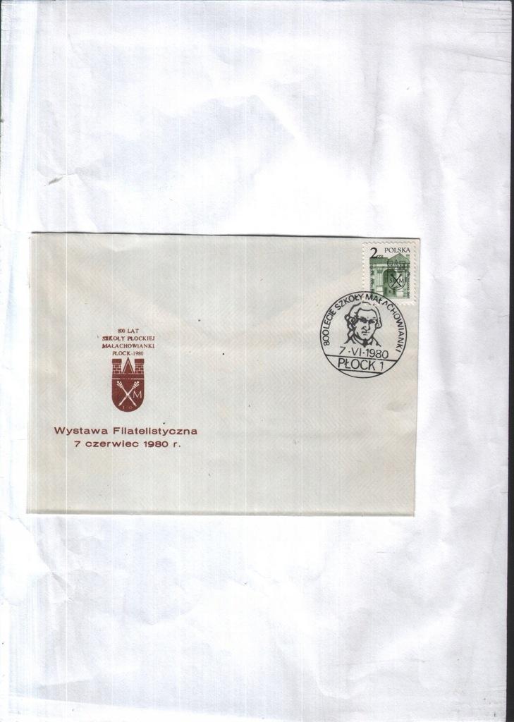 Filatelistyka. - Płock - Wystawa filatelist. 1980