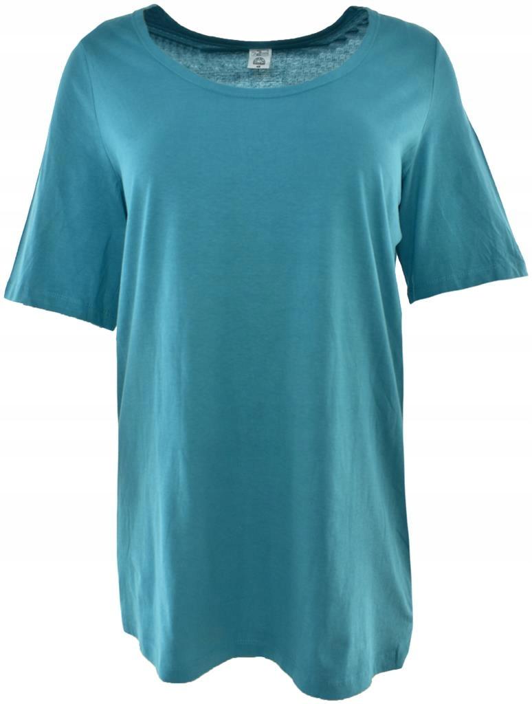 cBW6988 klasyczny bawełniany t-shirt 44