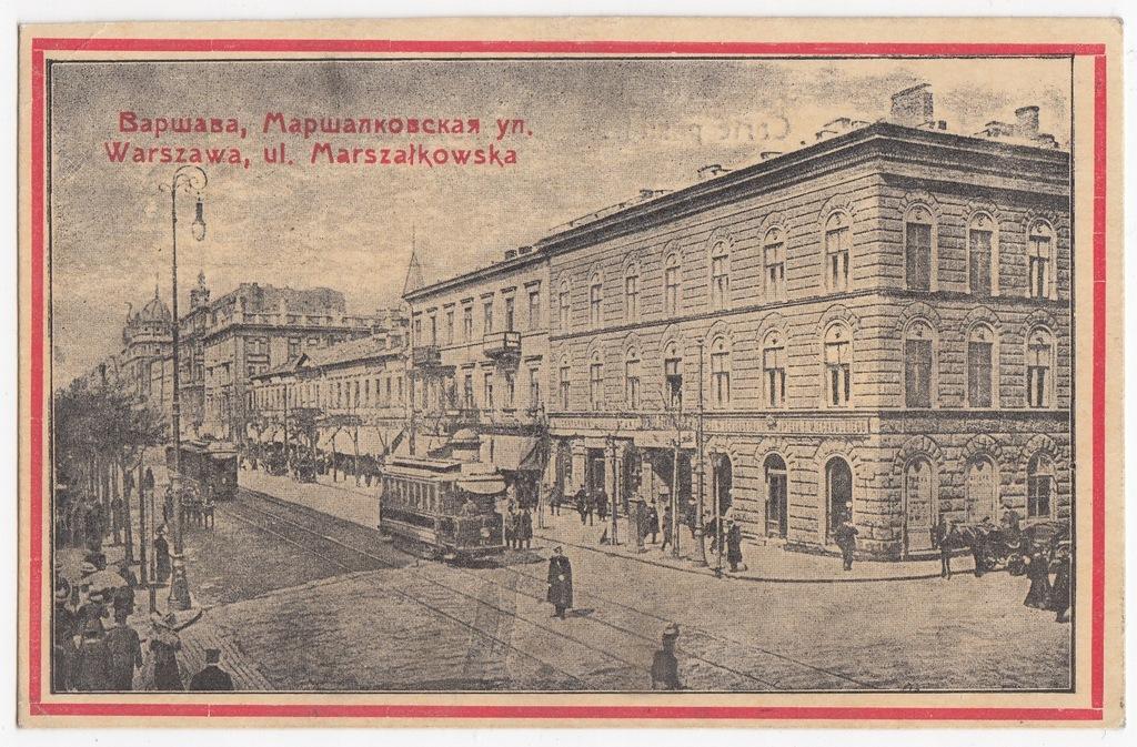 Stara pocztówka WARSZAWA 1P53