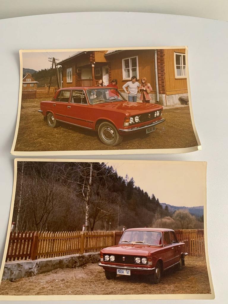 POLSKI FIAT 125 P ZESTAW 2 ZDJĘĆ