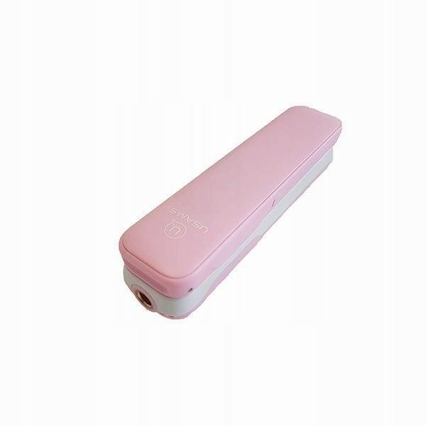 USAMS Selfie Stick M1 Mini 3,5mm różowy/pink