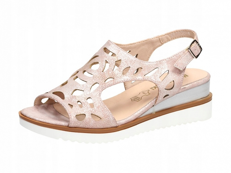 Różowe sandały damskie M.DASZYŃSKI SA78 10 r37