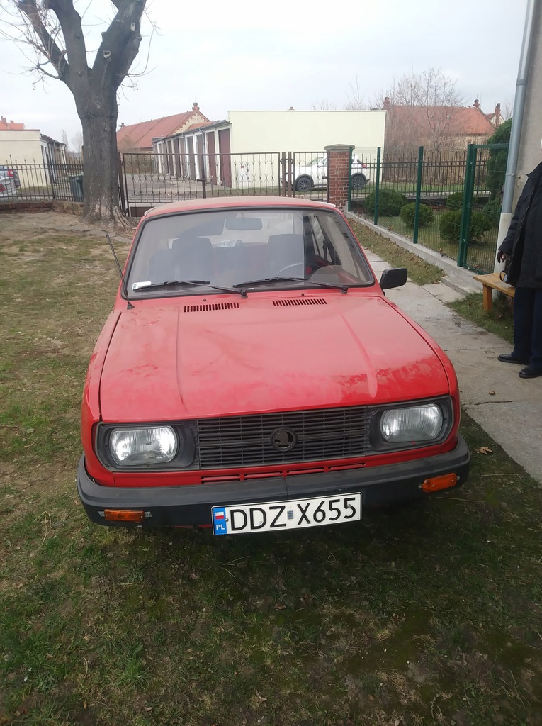 SKODA 105L 1982r --- W DOBRYM STANIE --- BIELAWA