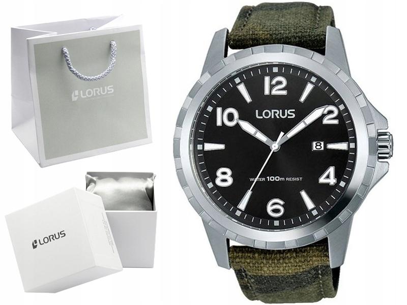 LORUS zegarek męski RH987FX9 data WODOSZCZELNY