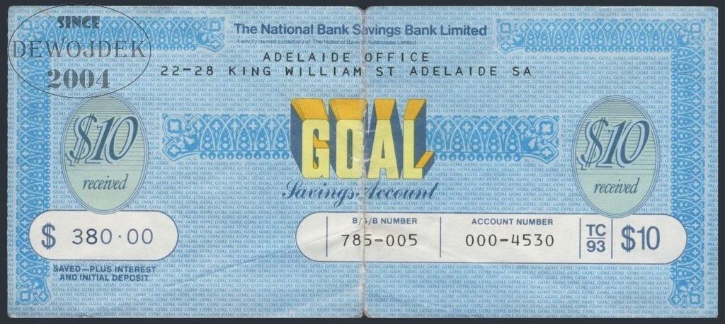 MAX - AUSTRALIA ADELAIDE 10 Dollars # F++