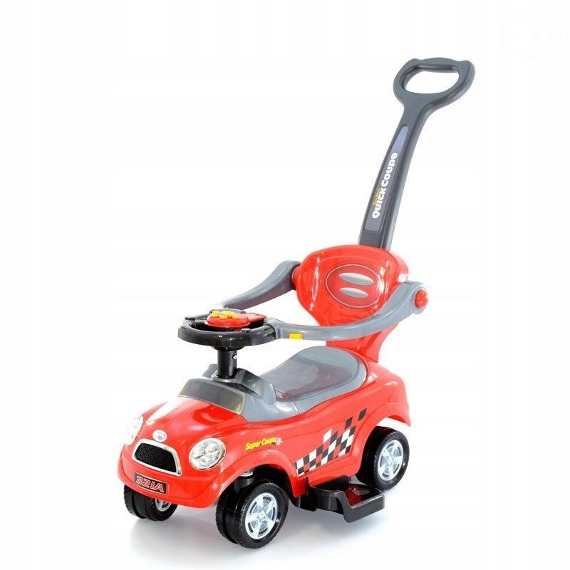 Pojazd Odpychacz Dla Dziecka Czerwony 7622233721 Oficjalne Archiwum Allegro