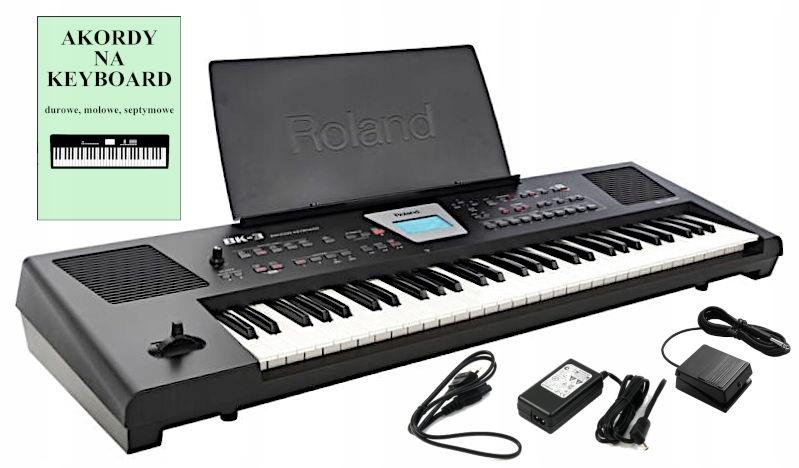 ROLAND BK-3 Zaawansowany Keyboard z Pedałem