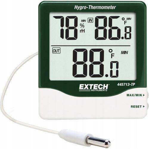 Termohigrometr z sondą Extech 445713-TP