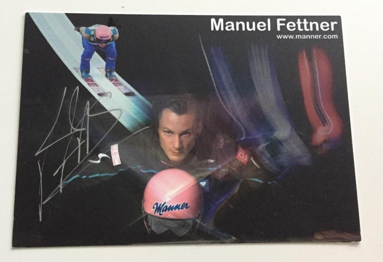 Autograf - Manuel Fettner