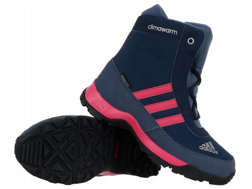 Buty Adidas AdiSnow dziecięce zimowe ocieplane 31