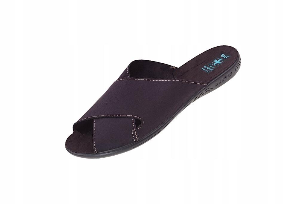 Pantofle klapki krzyżaki BIO Adanex 20310 r. 44