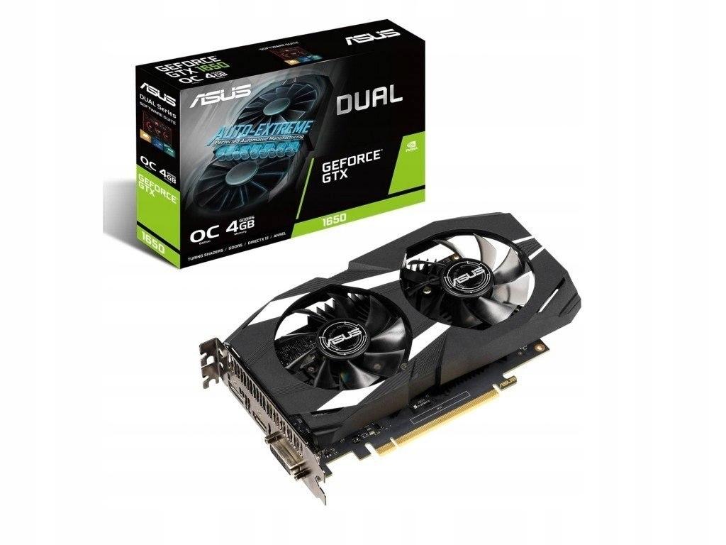 Karta graficzna GeForce GTX 1650 DUAL 4G