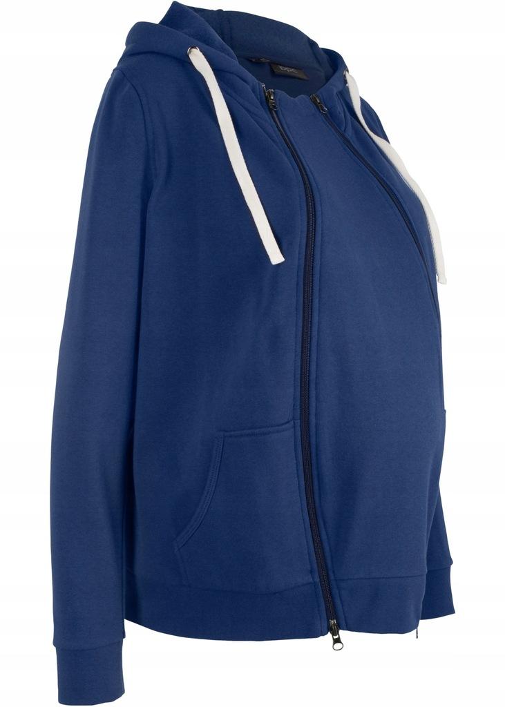 S8 BPC Bluza rozpinana ciążowa z wstawką r.48/50