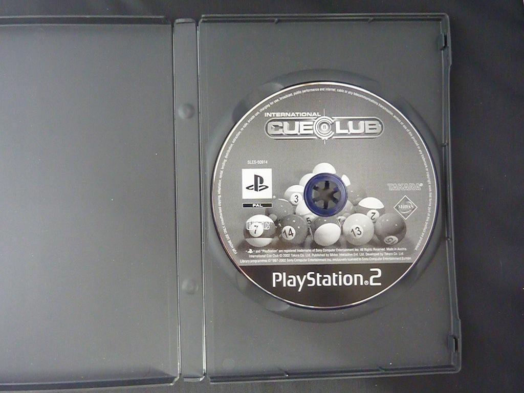 INTERNATIONAL CUELUB PS2