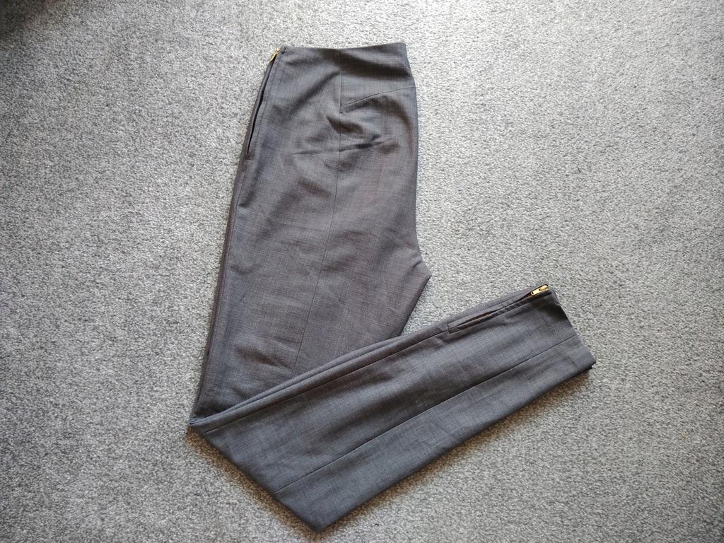 Spodnie eleganckie Zameczki 38 M H&M