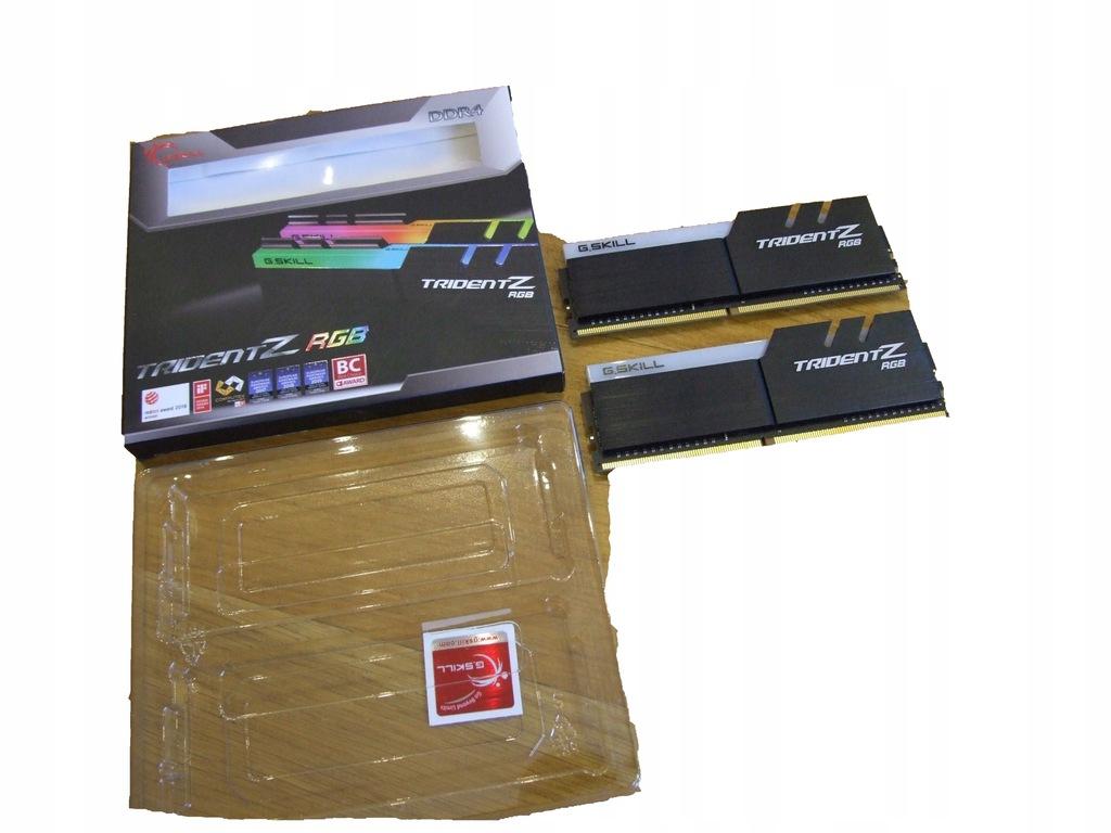 G.SKILL TRIDENTZ RGB 2x8GB= 16GB @3600MHz@ BOX #37
