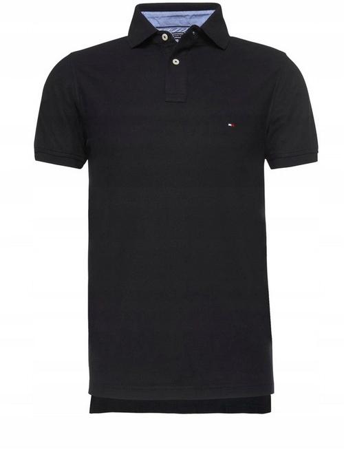 Koszulka Polo Tommy Hilfiger Czarna Rozmiar L
