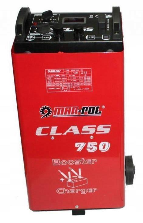 PROSTOWNIK Z ROZRUCHEM CLASS 750 700A LCD + KABLE