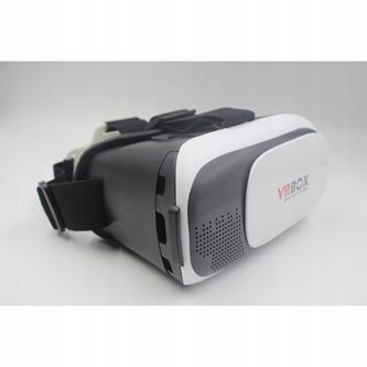 Wirtualna rzeczywistość, gogle, VR BOX białe