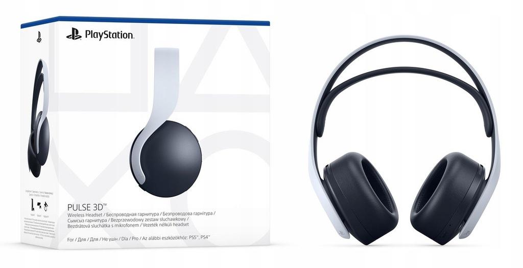 NOWE SONY PULSE 3D PLAYSTATION 5 PS5 SKLEP !