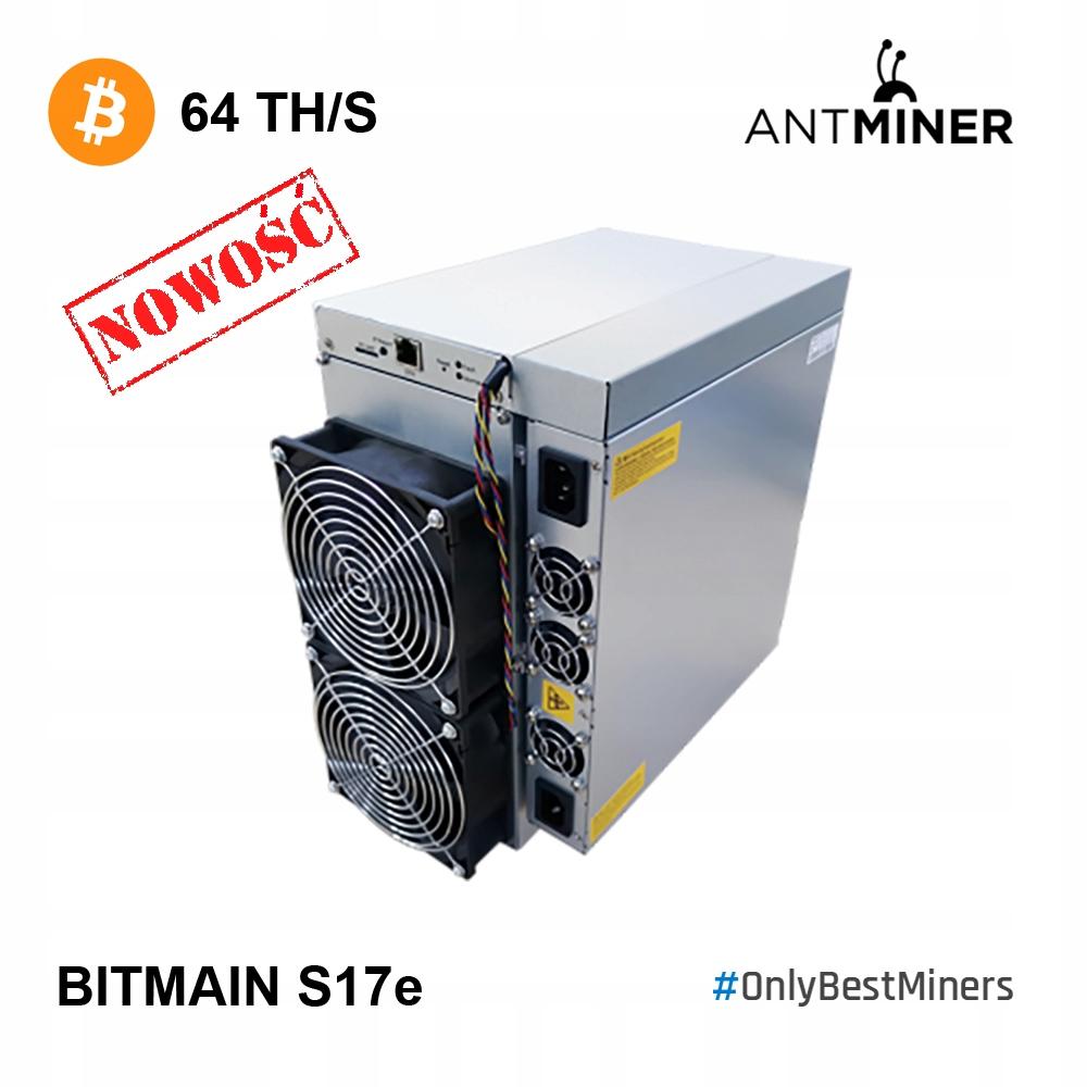 Bitmain Antminer S17e 64Th S17