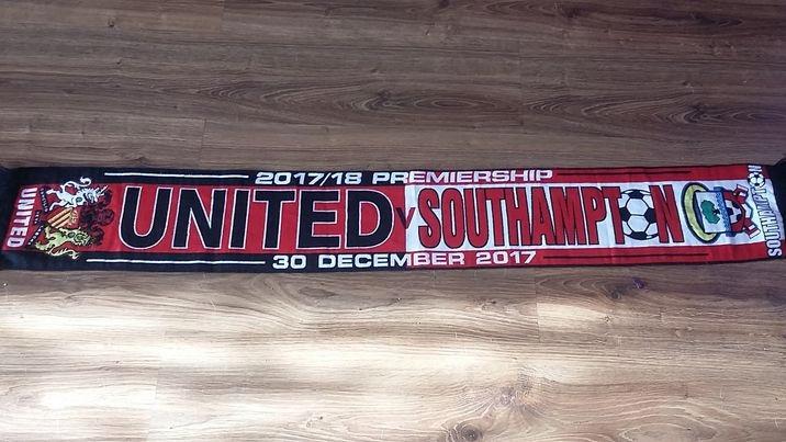 szalik Manchester United - Southampton