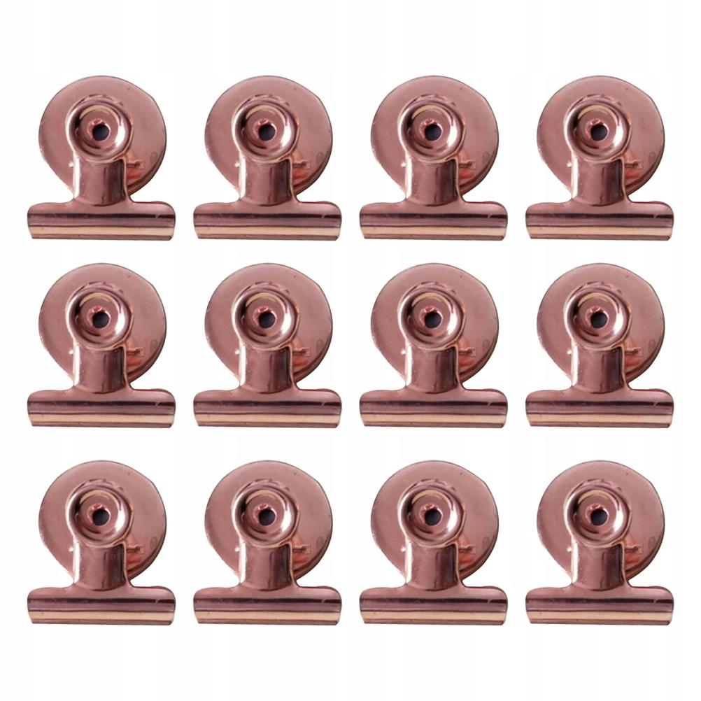 24 szt. 31mm Klipsy do lodówki Metalowe spinacze d