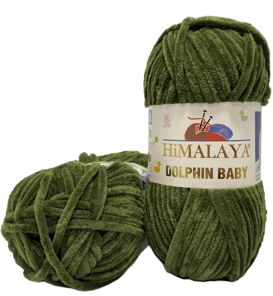 Włóczka Himalaya DOLPHIN BABY 100% Poliester 80361