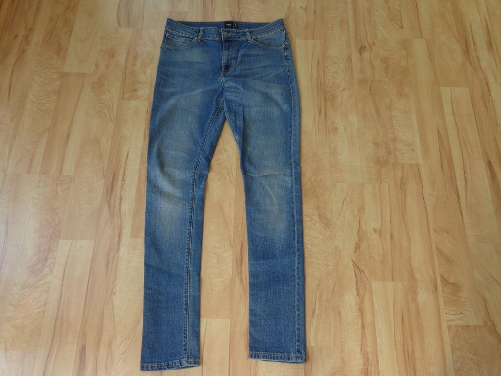 Spodnie ASOS rozmiar 32/34 SLIM