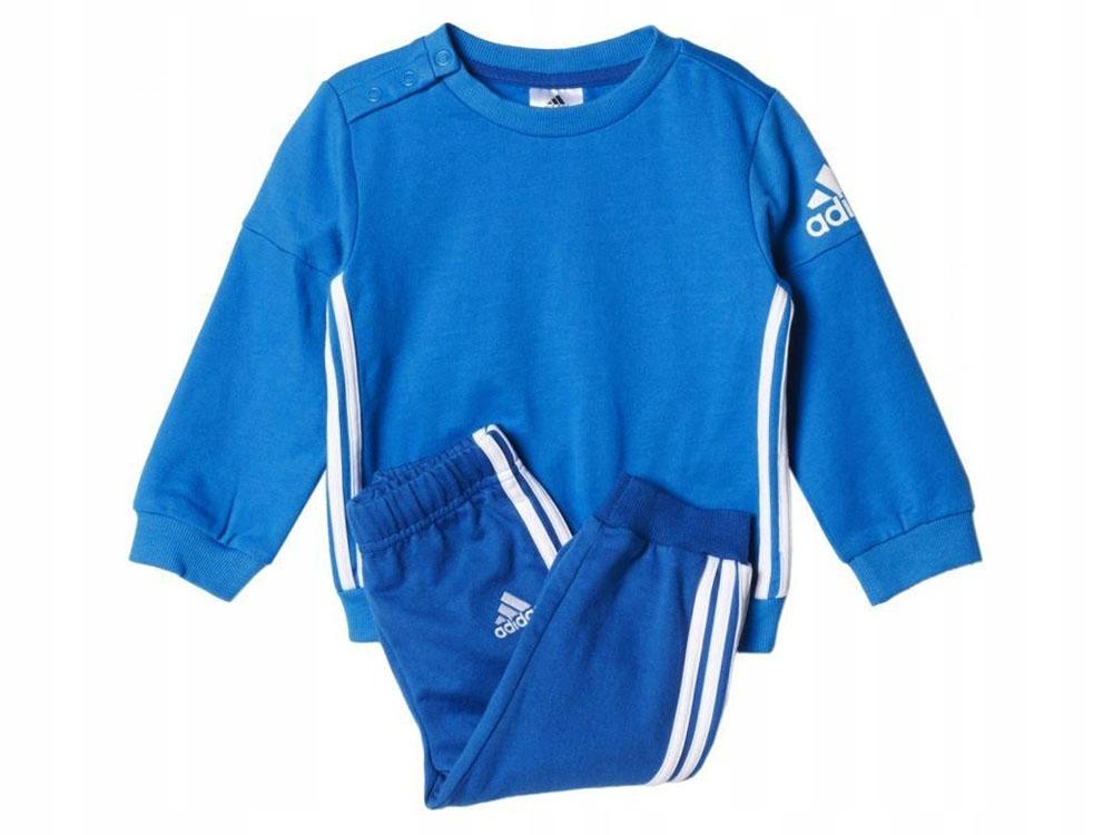 ADIDAS sportowy KOMPLET dziecięcy strój AJ7364