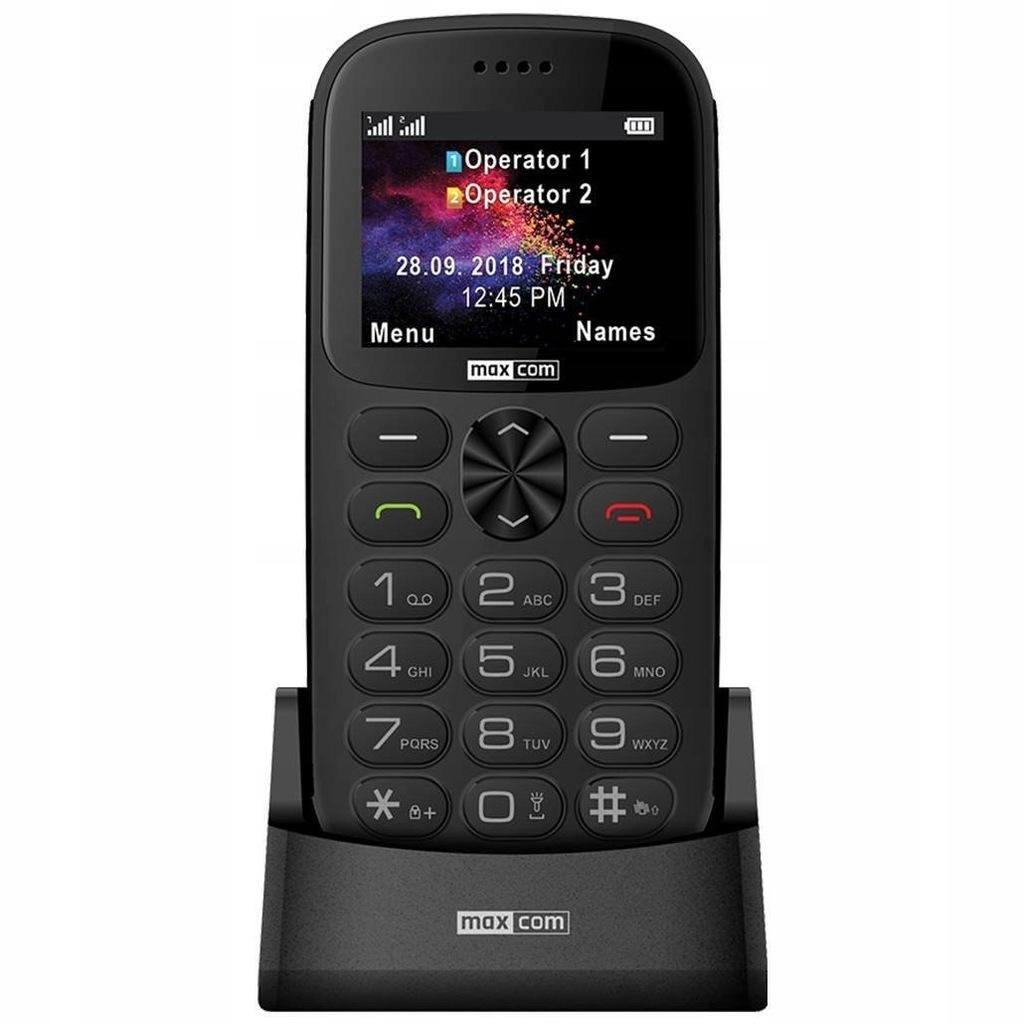 Telefon komórkowy MAXCOM MM471 szary