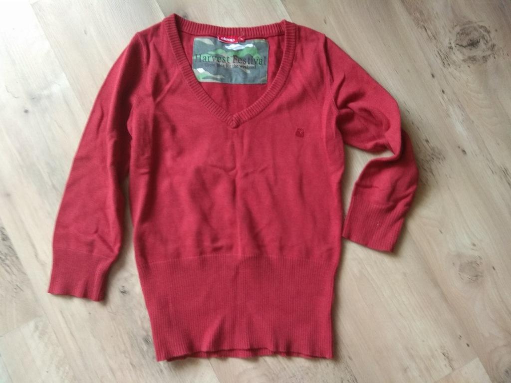 Sweterek czerowny DEEP