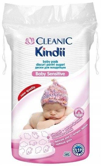 Cleanic, Kindii Baby Sensitive. Płatki kosmetyczne