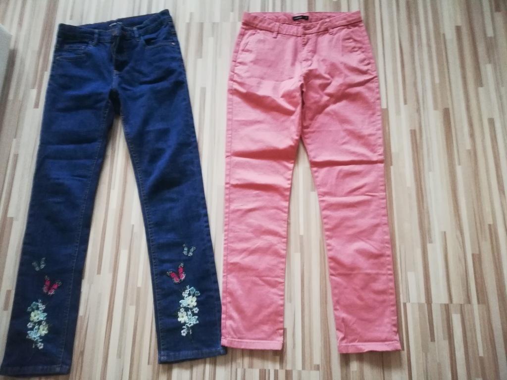 2 x spodnie Reserved rozm. 158 cm