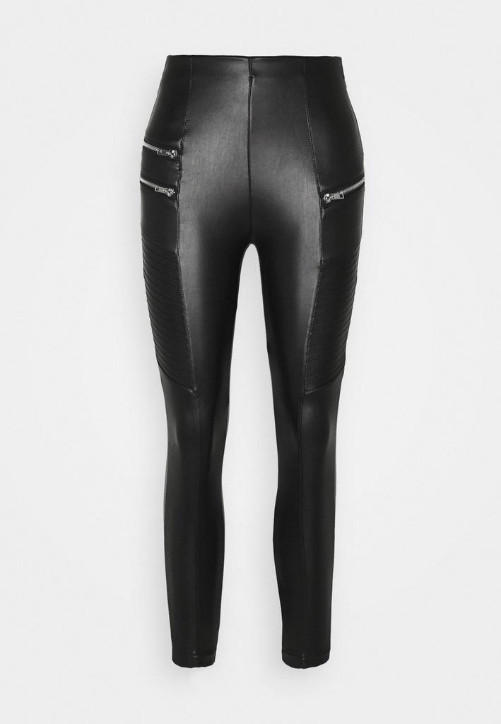 New Look Legginsy spodnie skóra ekologiczna36/XS/S