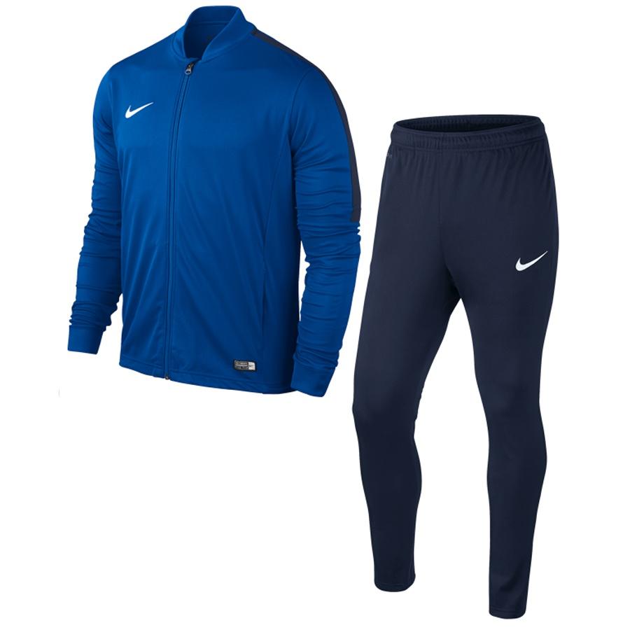 Dres Nike Academy 16 KNT Tracksuit 2 niebieski XL