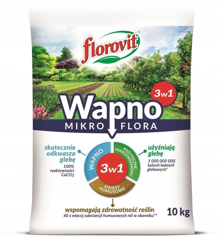 Wapno Mikroflora 3w1 10kg Florovit
