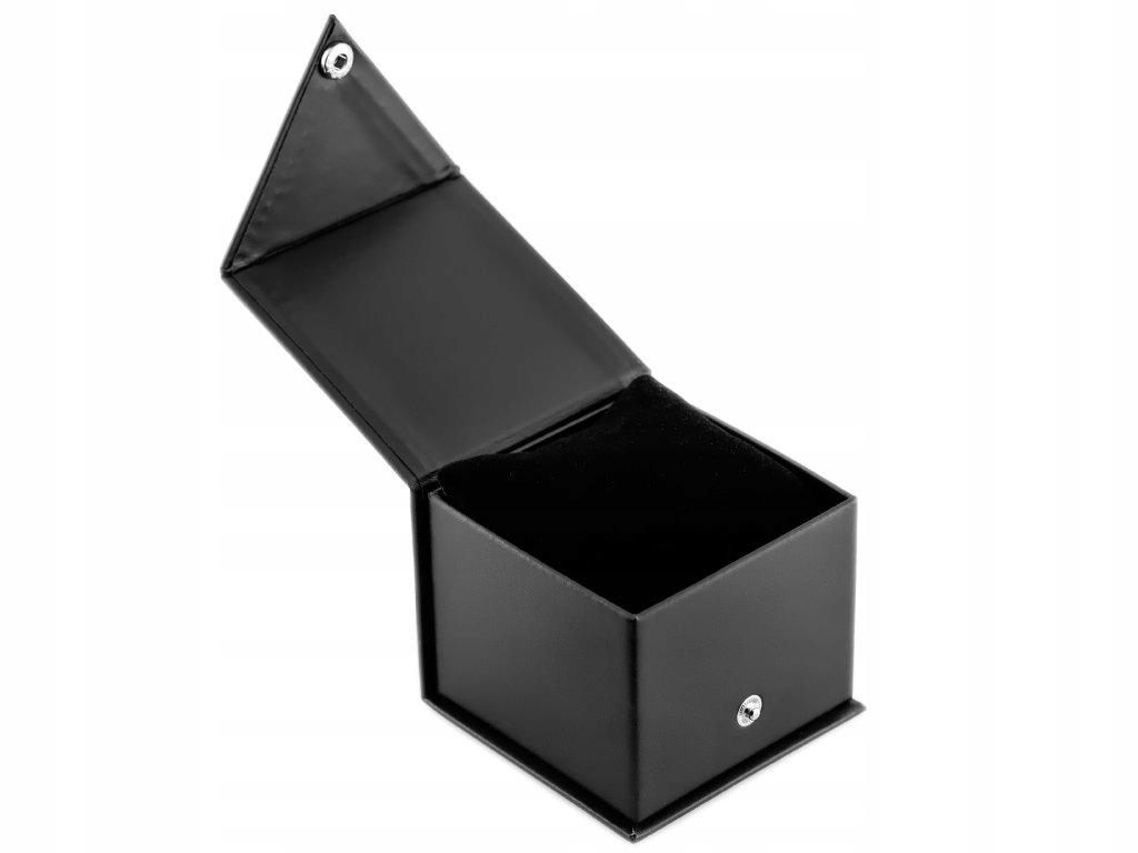 Prezentowe pudełko na zegarek - GINO ROSSI czarne