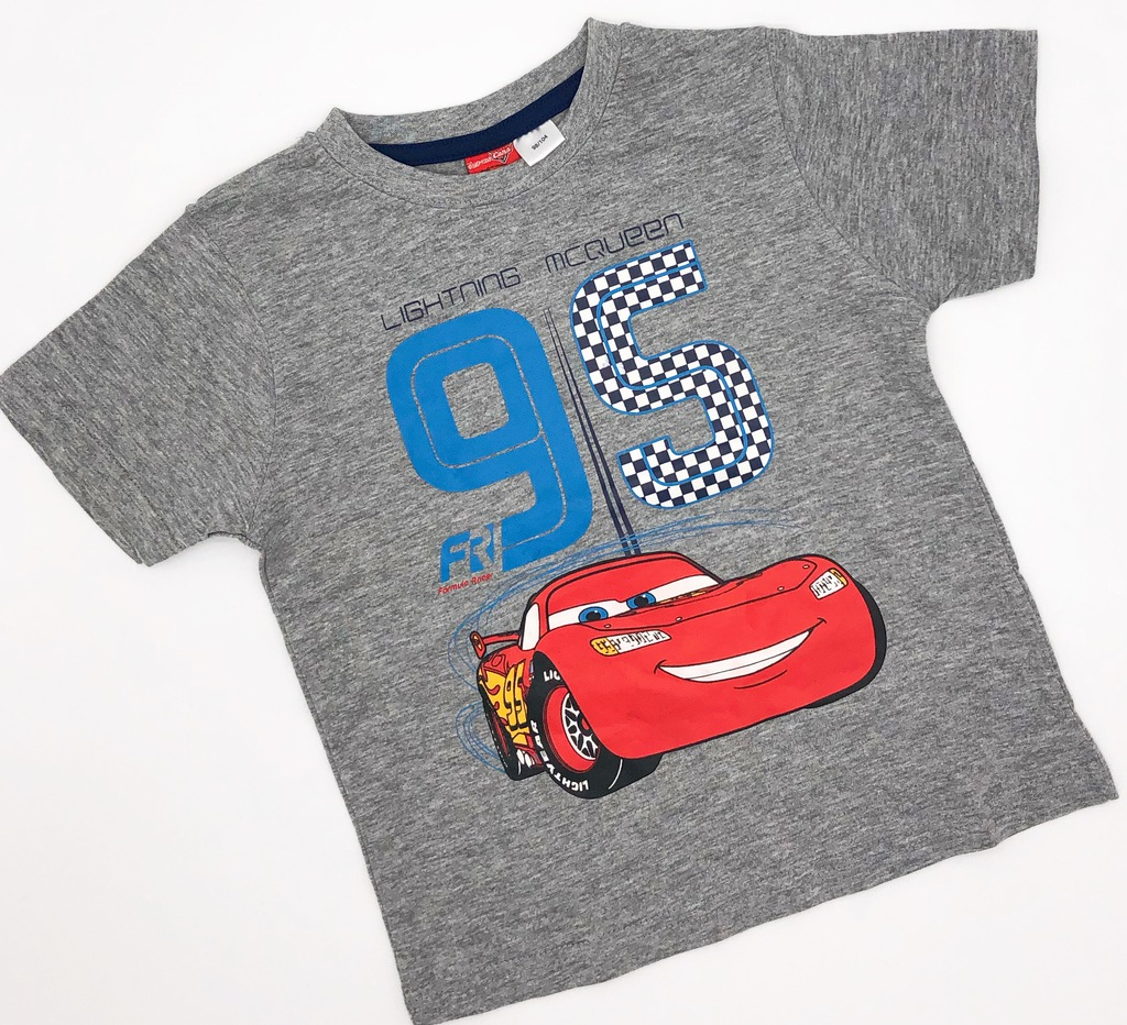 DISNEY AUTA nowy t-shirt 98-104