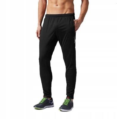 REEBOK CROSSFIT spodnie treningowe męskie - S -