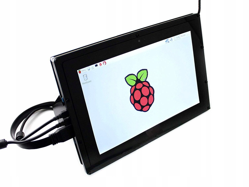 7JB05 Waveshare Raspberry Ekran LCD z obudową 10,1