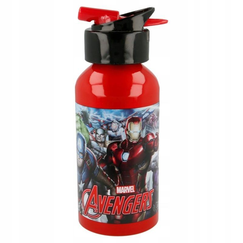 Avengers - Bidon aluminiowy z ustnikiem 400 ml
