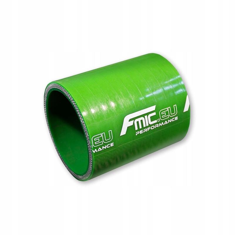 Łącznik silikonowy prosty FMIC 8mm 5CM Zielony